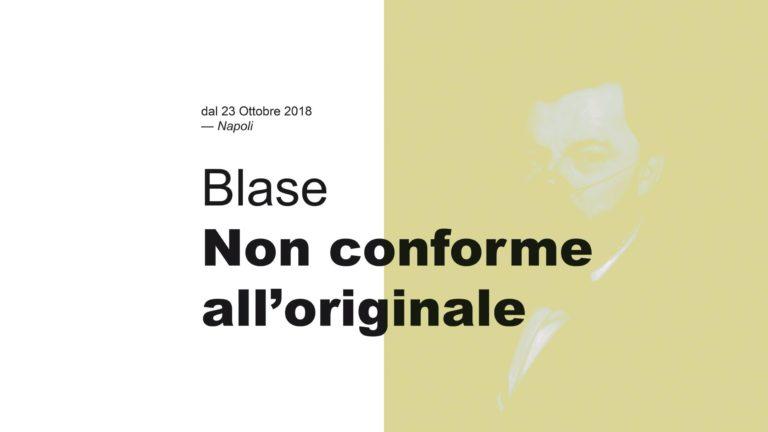 Le opere di Blase in mostra al Complesso Museale di Santa Maria delle Anime del Purgatorio ad arco.