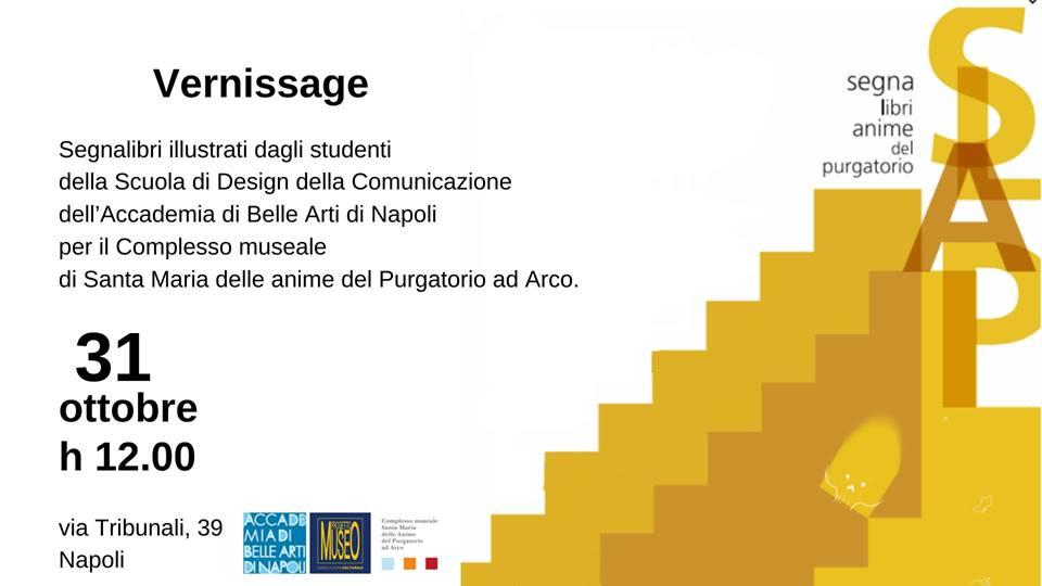 """Inaugurazione della mostra """"SLAP-SegnaLibroAnimedelPurgatorio"""""""
